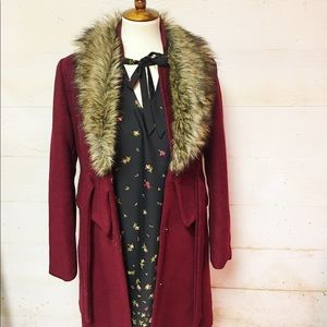 Claret good quality coat